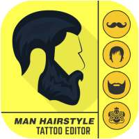 Man Tattoo and Hairstyle Photo Editor on 9Apps