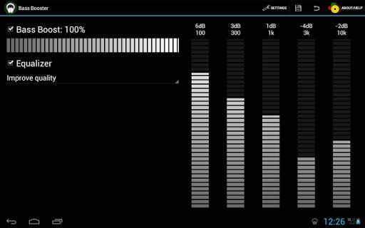 Bass Booster - Music Equalizer screenshot 6