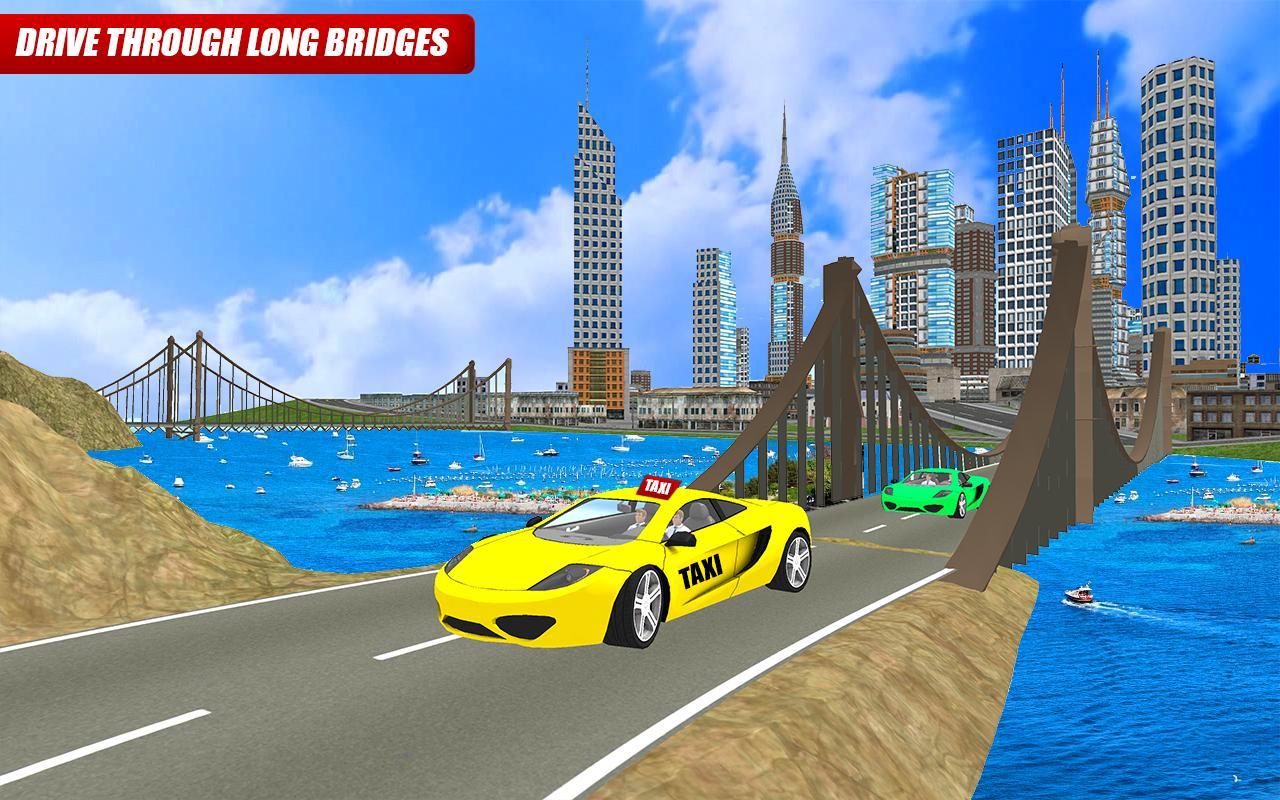 Taxi Mania: Road Runners 3D 3 تصوير الشاشة