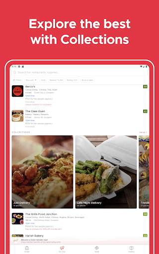zomato - restaurant finder and food delivery app screenshot 10