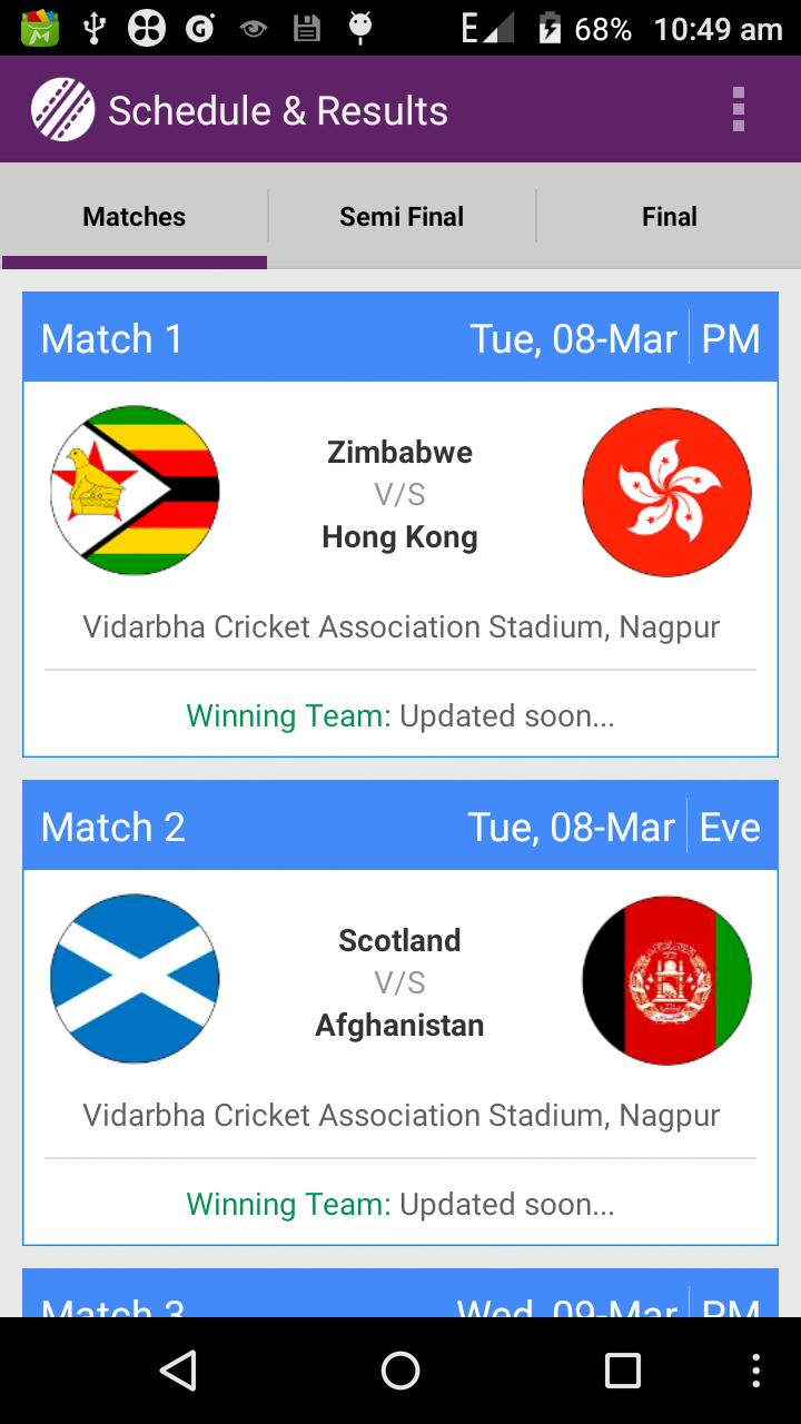 T20 World Cup 2016 screenshot 2