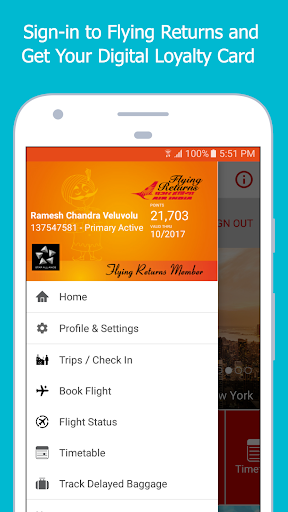 Air India screenshot 5