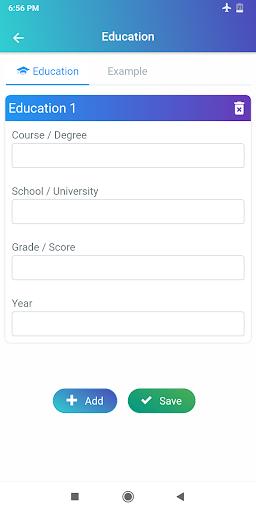 Curriculum vitae 2020 CV Currículo grátis PDF screenshot 13