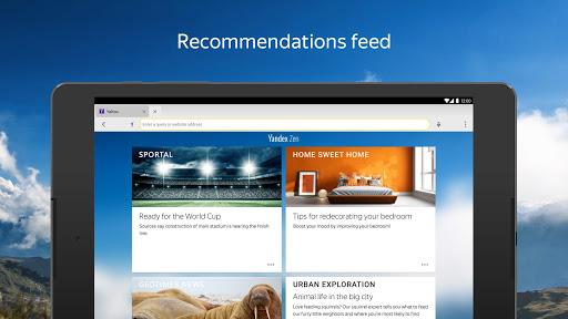 Yandex Browser (alpha) screenshot 10