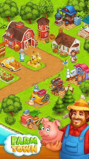 Farm Town: Happy village near small city and town screenshot 2