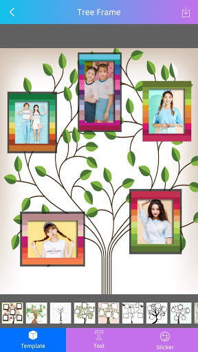 Photo Frame - Tree Frame screenshot 3