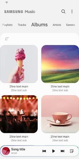Samsung Music screenshot 5