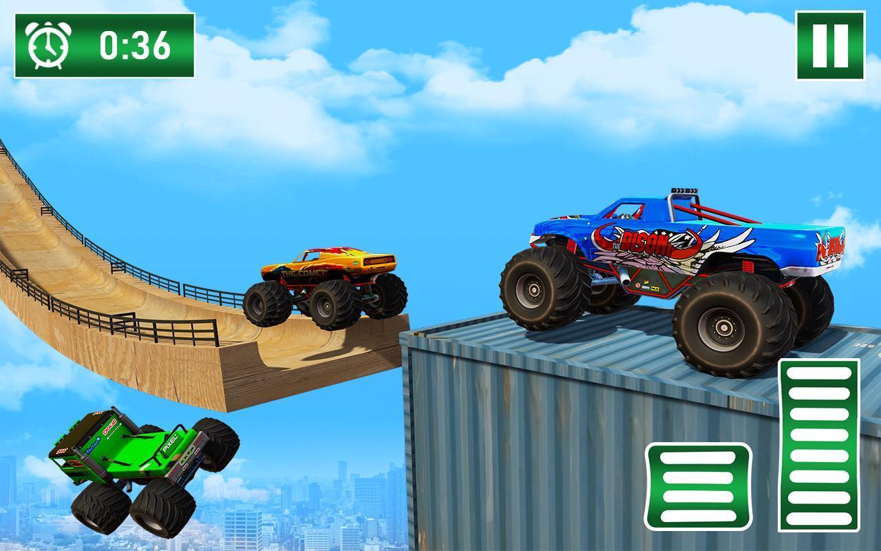 Monster Truck on Impossible Tracks screenshot 5