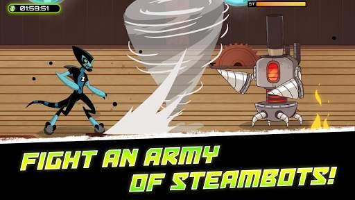 Ben 10 - Omnitrix Hero: Aliens vs Robots screenshot 3