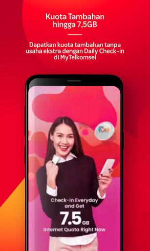 MyTelkomsel - Beli Pulsa/Paket & dapat kuota 7.5GB screenshot 2