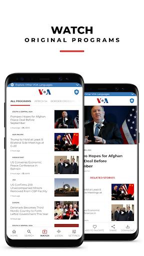 VOA News 3 تصوير الشاشة