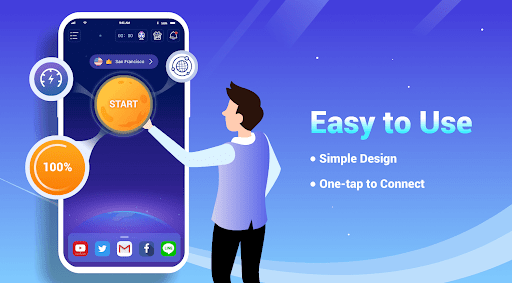 LightSail VPN, unblock websites and apps for free screenshot 2