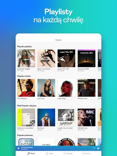 Deezer: muzyka, playlisty i podcasty screenshot 12