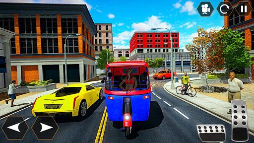 Tuk tuk Chingchi Rickshaw: City Rickshaw driver screenshot 7