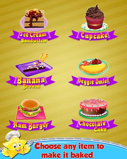 Cooking Recipes - in The Kids Kitchen 2 تصوير الشاشة