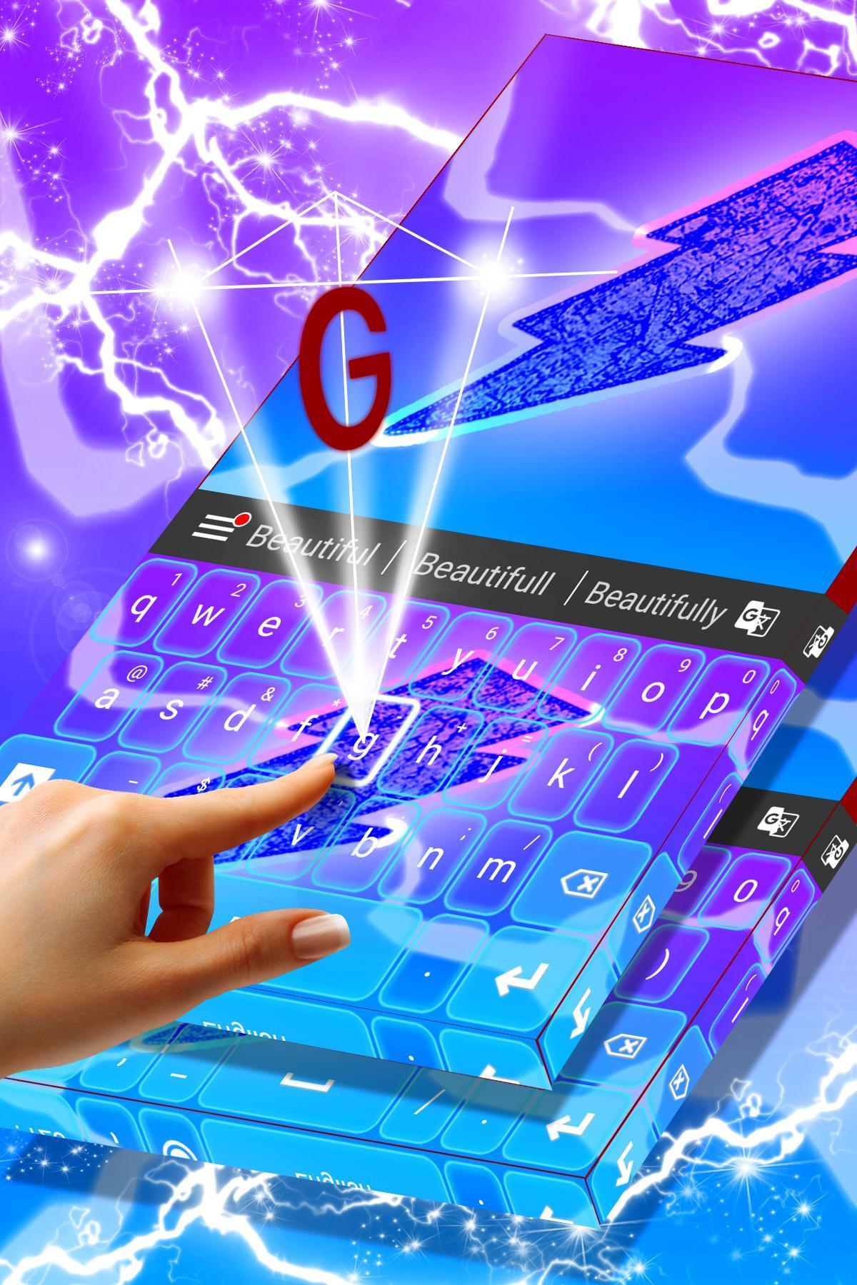 Flash Theme For Keyboard 2018 screenshot 2