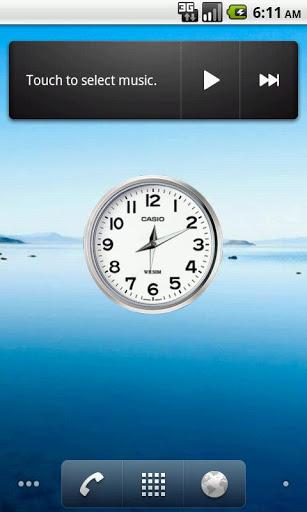 Clock save battery, time, alarm 1 تصوير الشاشة