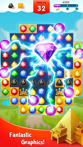 أسطورة الجواهر - المباراة 3 اللغز 3 تصوير الشاشة