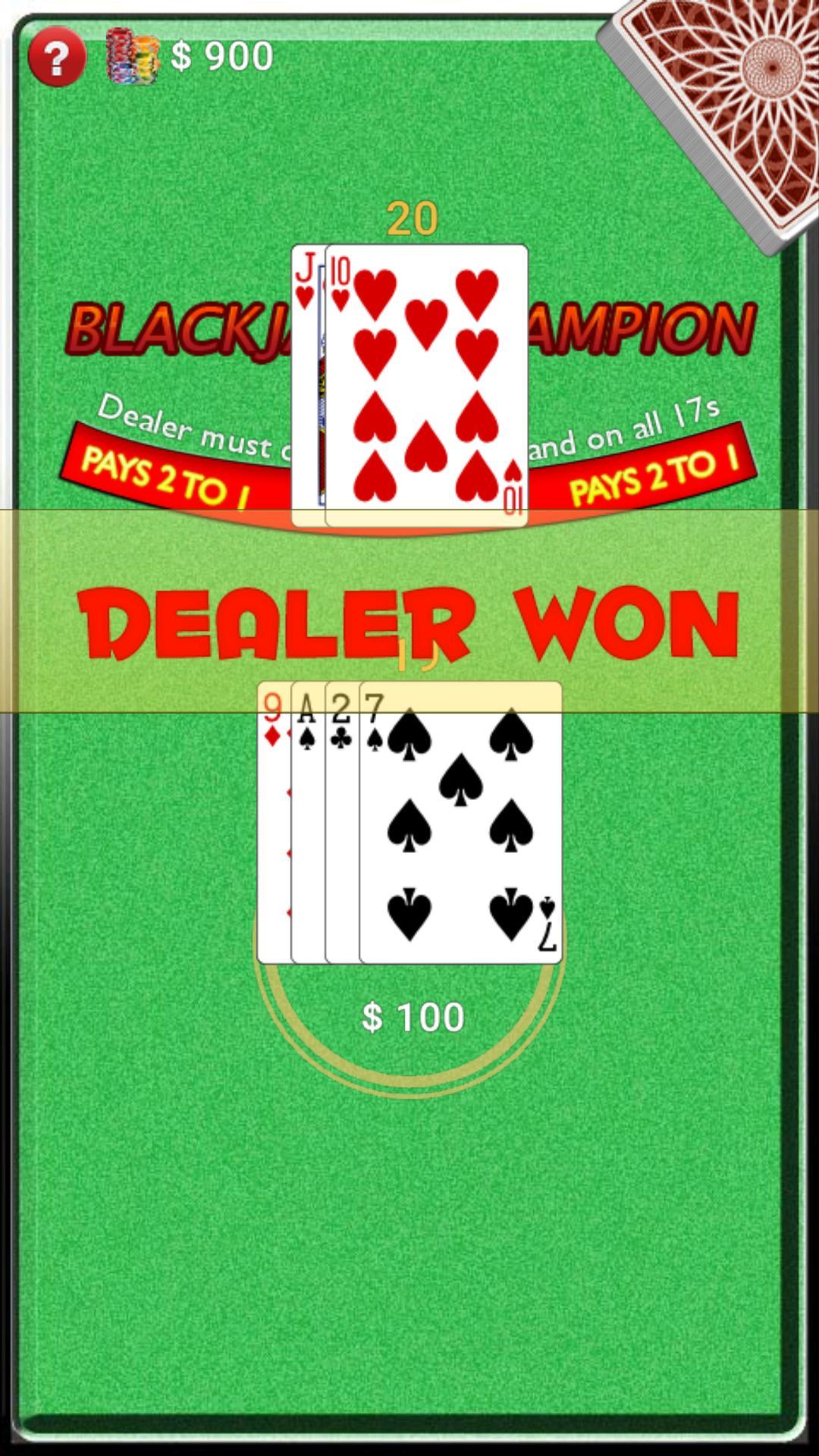 BlackJack Champion screenshot 6