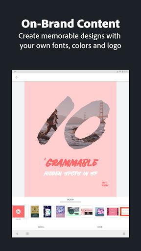 Adobe Spark Post: Graphic Design & Story Templates 14 تصوير الشاشة