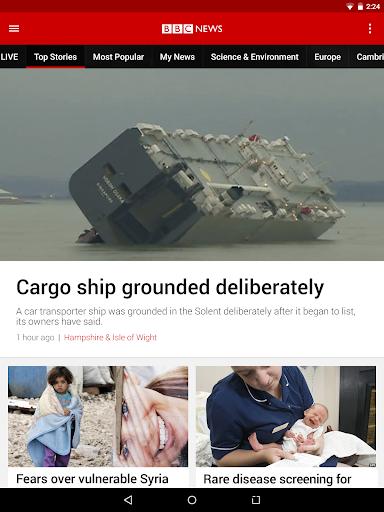 BBC News 14 تصوير الشاشة