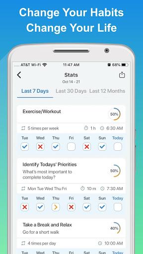 Success Life Coach - Goal Planner & Habit Tracker screenshot 4
