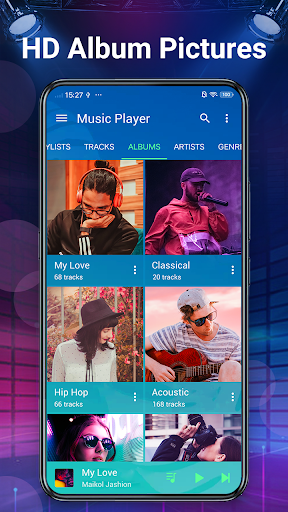 Music Player - Bass Booster & Free Music screenshot 5