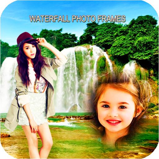 Waterfall Photo Frames 2019 أيقونة
