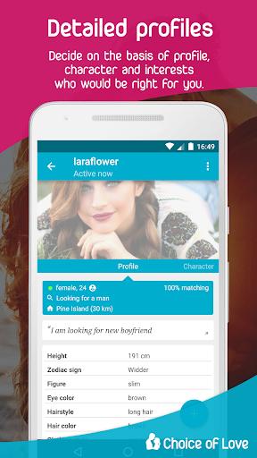 Free Dating & Flirt Chat - Choice of Love 4 تصوير الشاشة