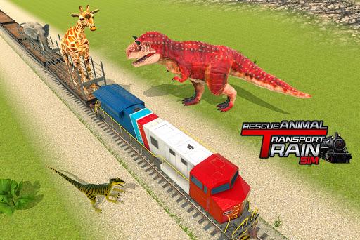 Train Simulator 2021: Rescue Dinosaur Transport screenshot 8