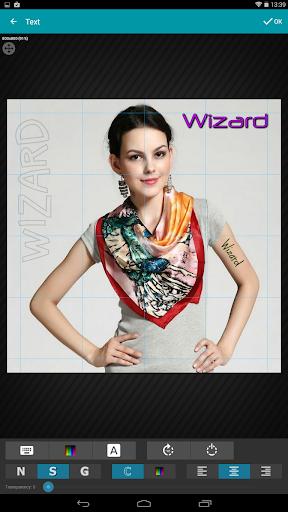 Wizard Photo Editor 18 تصوير الشاشة
