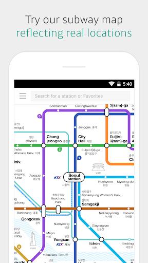 KakaoMetro - Subway Navigation screenshot 1