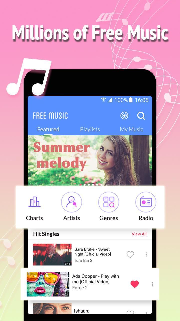 Free Music स्क्रीनशॉट 1