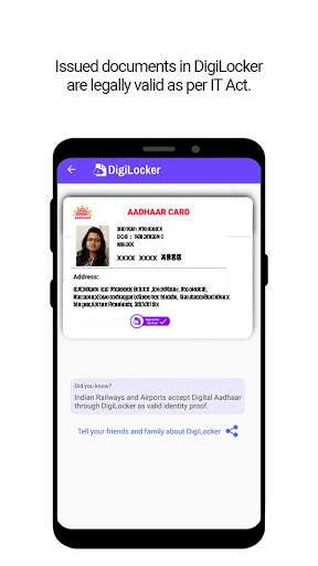 DigiLocker  -  a simple and secure document wallet screenshot 2