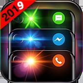 Flash Alert Notification Color icon
