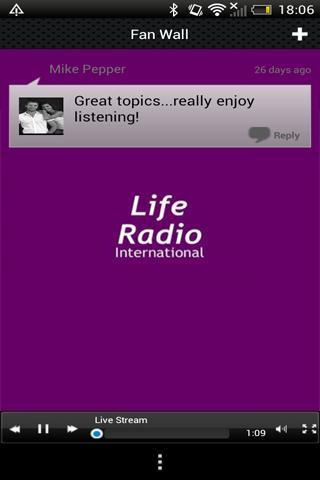 Life Radio International screenshot 3