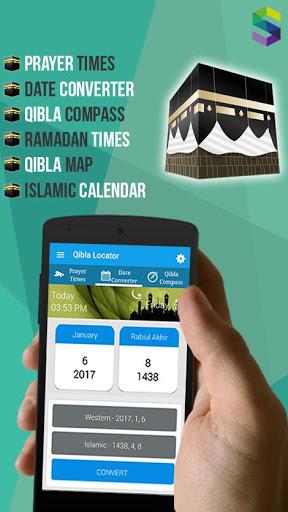 Qibla Locator: Prayer Times, Azan, Quran Mp3 screenshot 2