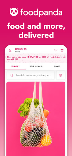 foodpanda - Local Food & Grocery Delivery 8 تصوير الشاشة