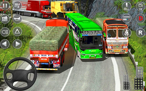 Indian Truck Spooky Stunt : Cargo Truck Driver screenshot 3