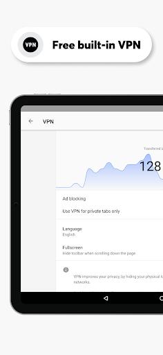 Opera Browser: Fast & Private screenshot 8