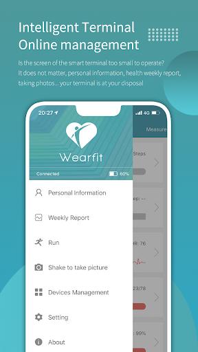 Wearfit screenshot 3