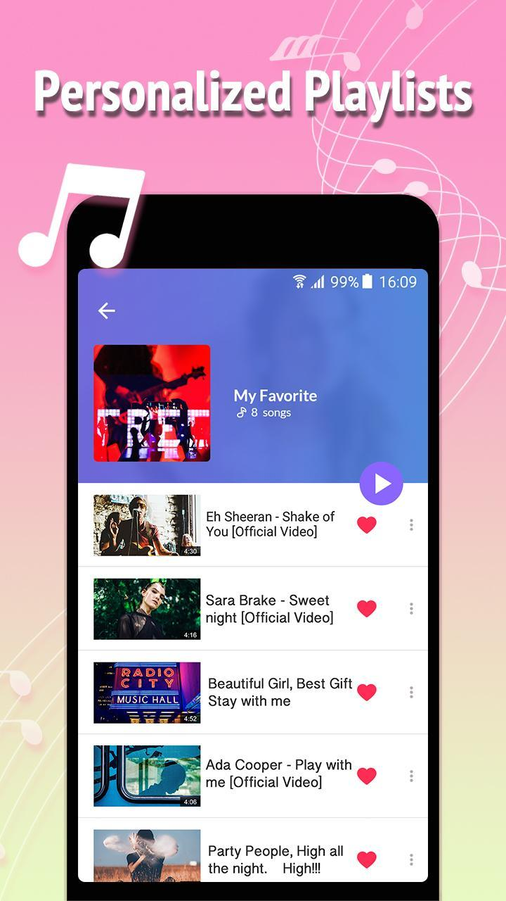 Free Music स्क्रीनशॉट 5
