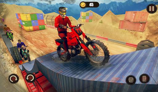Impossible Bike Stunt Master 3D - New Moto Bike 10 تصوير الشاشة