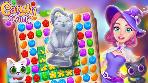 Candy Witch - Match 3 Puzzle Free Games screenshot 5