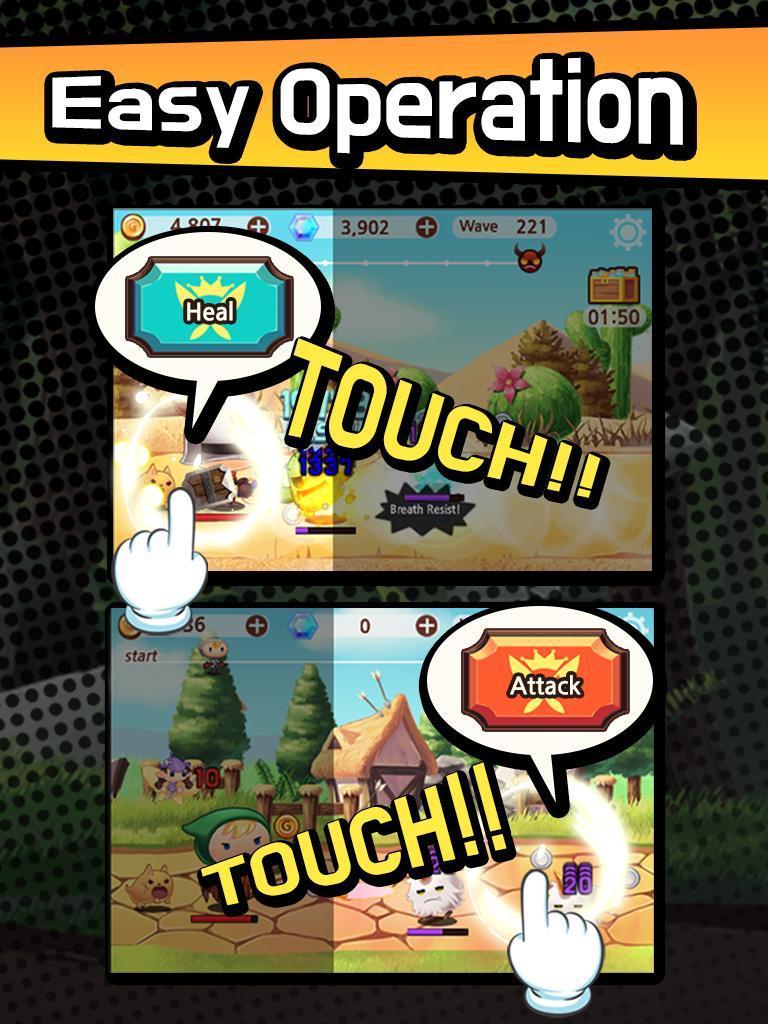 Sudden Warrior (Tap RPG) screenshot 13