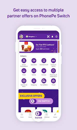 PhonePe – UPI Payments, Recharges & Money Transfer screenshot 7