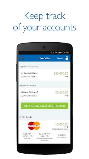 Security Bank Mobile App 2 تصوير الشاشة