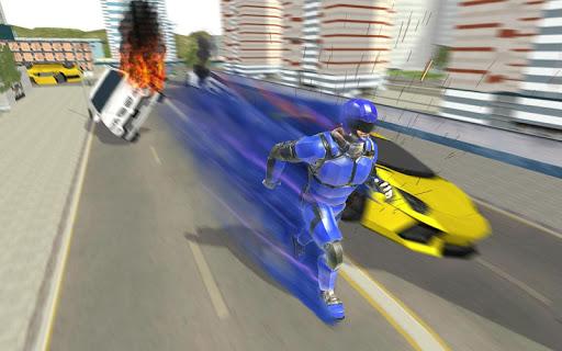 Super Light Speed Robot Superhero: Speed Hero 1 تصوير الشاشة