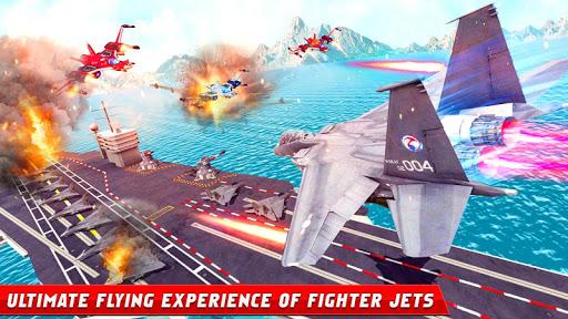 Formula Car Robot Games - Air Jet Robot Transform screenshot 7