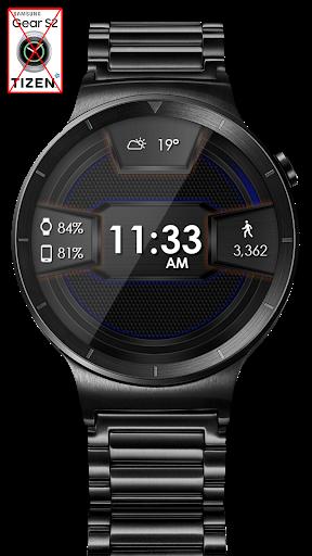 Daring Carbon HD WatchFace Widget Live Wallpaper 8 تصوير الشاشة